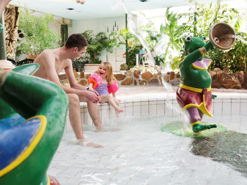 Limburgse Peel - kids-campings - plezier in het zwembad