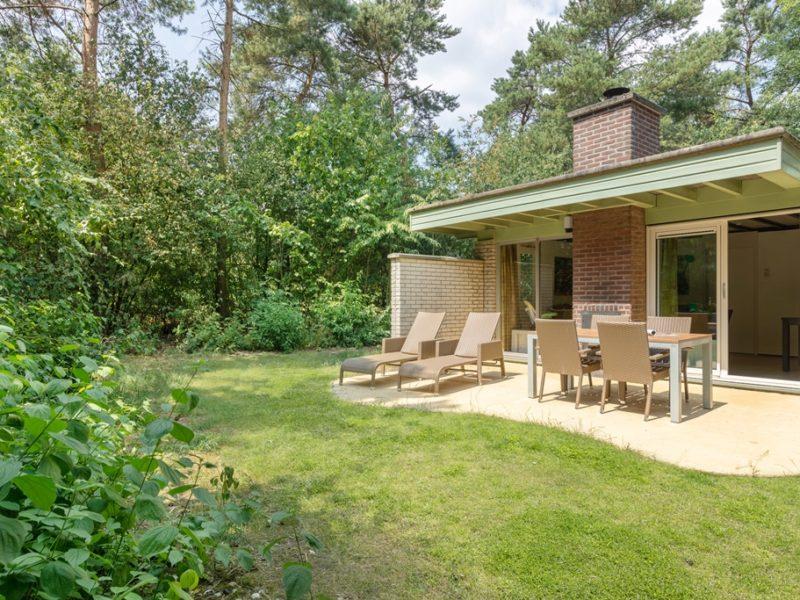 Limburgse Peel - kids-campings - bungalow met terras