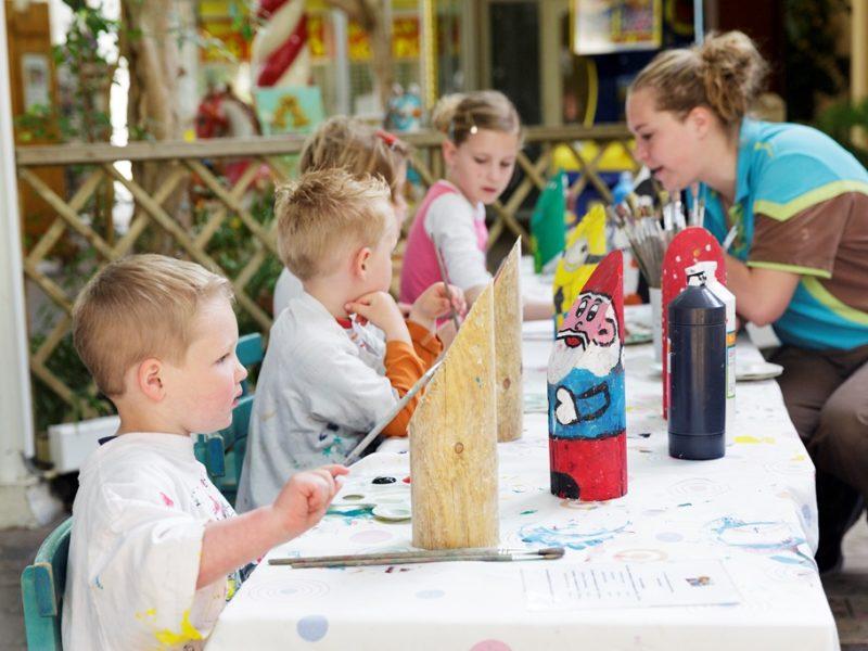 Limburgse Peel - kids-campings - knutselen met de animatie