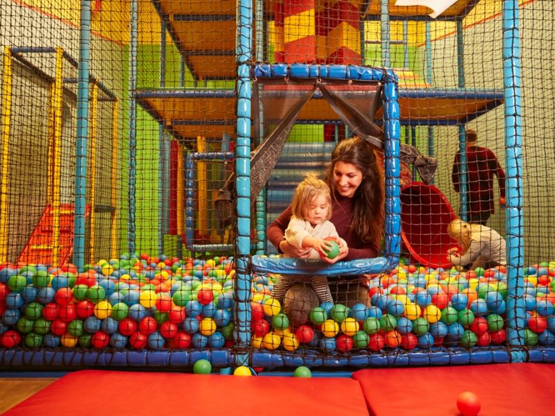 Parc Sandur - kids-campings - indoor speelparadijs