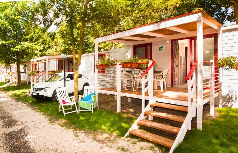Villaggio San Francesco - Kids-campings - buiten de stacaravan