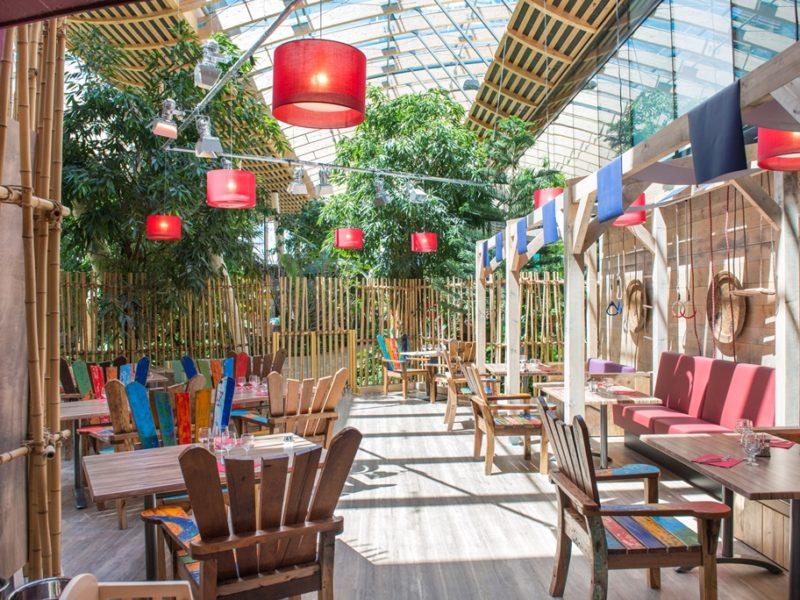 Le Bois Aux Daims - kids-campings - het restaurant