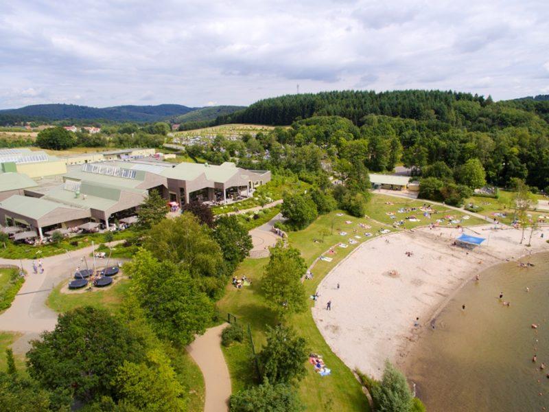 Park Bostalsee - kids-campings - het park