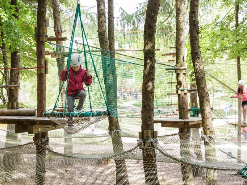 Park Bostalsee - kids-campings - klimbos op het park