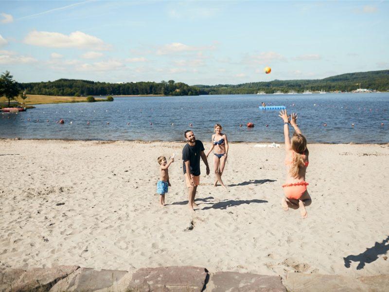 Park Bostalsee - kids-campings - op het strand