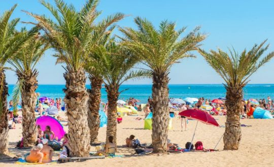 Falaise Narbonne Plage - Kids-Campings.com