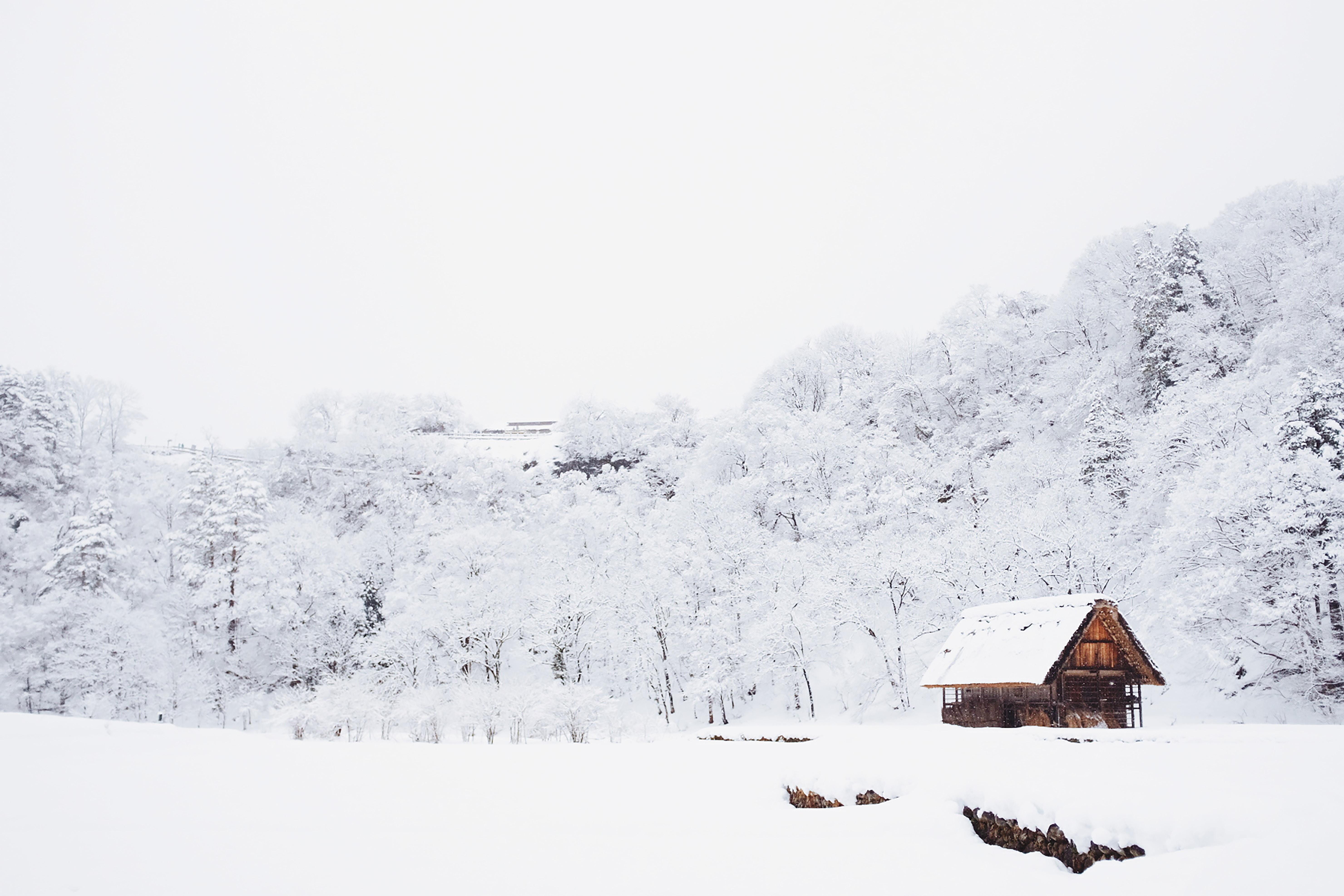 Voorbereid op wintersport - sneeuw
