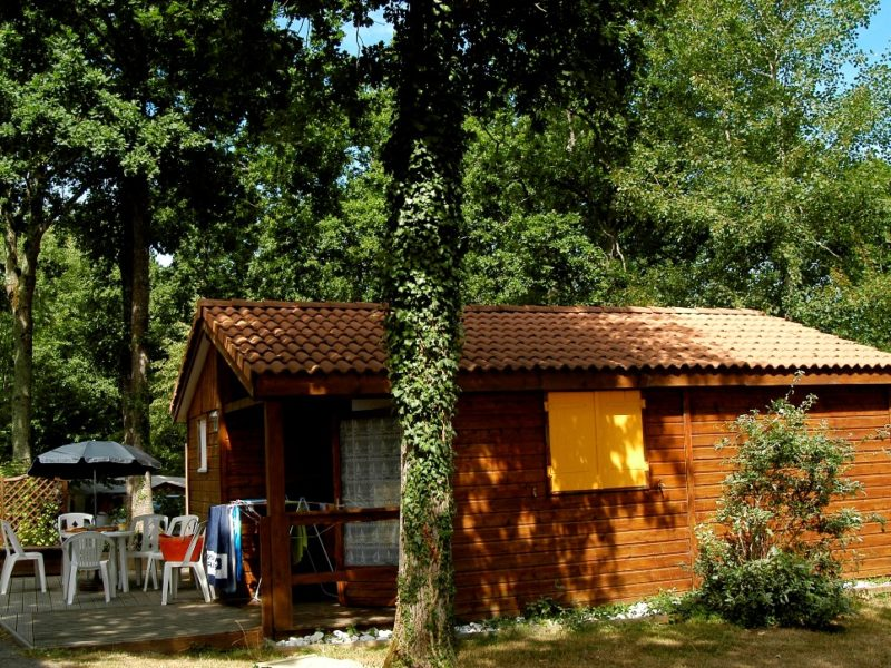 Chalet accommodatie Camping Le Patisseau - Kids-campings