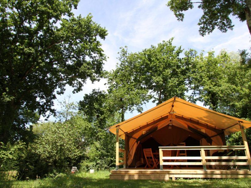 Safaritent - zomerdagen op Le Patisseau