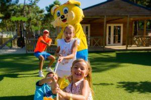 Animatie, kidsclub activiteiten- Camping Atlantic Club Montalivet, glamping.nl - Vacanceselect
