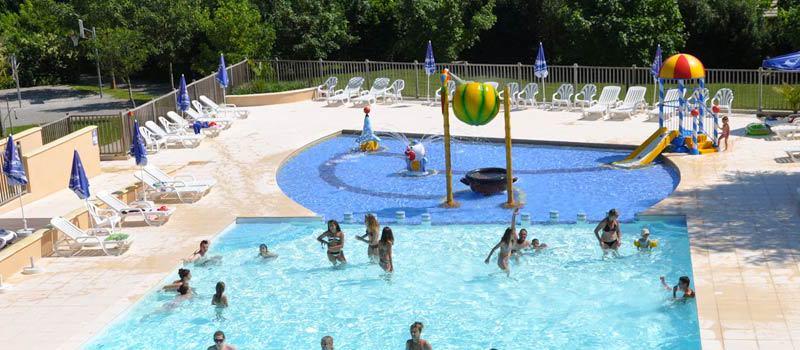 Buitenzwembad - Grange de Monteillac, kids-campings