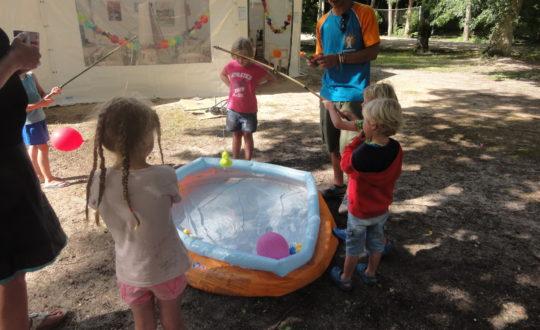Een feestje voor alle kinderen bij Camping La Grande Sologne