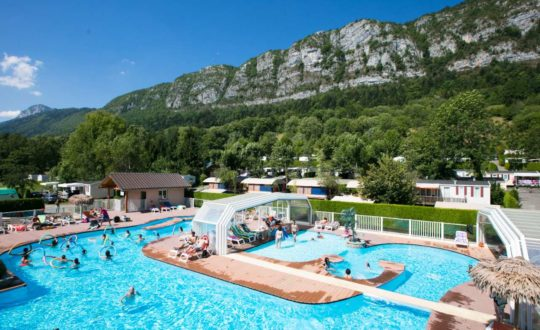Camping Les Fontaines - Kids-Campings.com