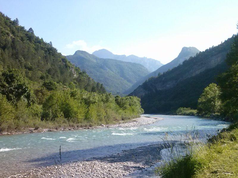 Uitzicht vallei de Drôme - Les Acacias