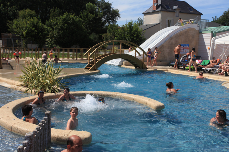 Buitenbad Roche Posay - Kids-campings