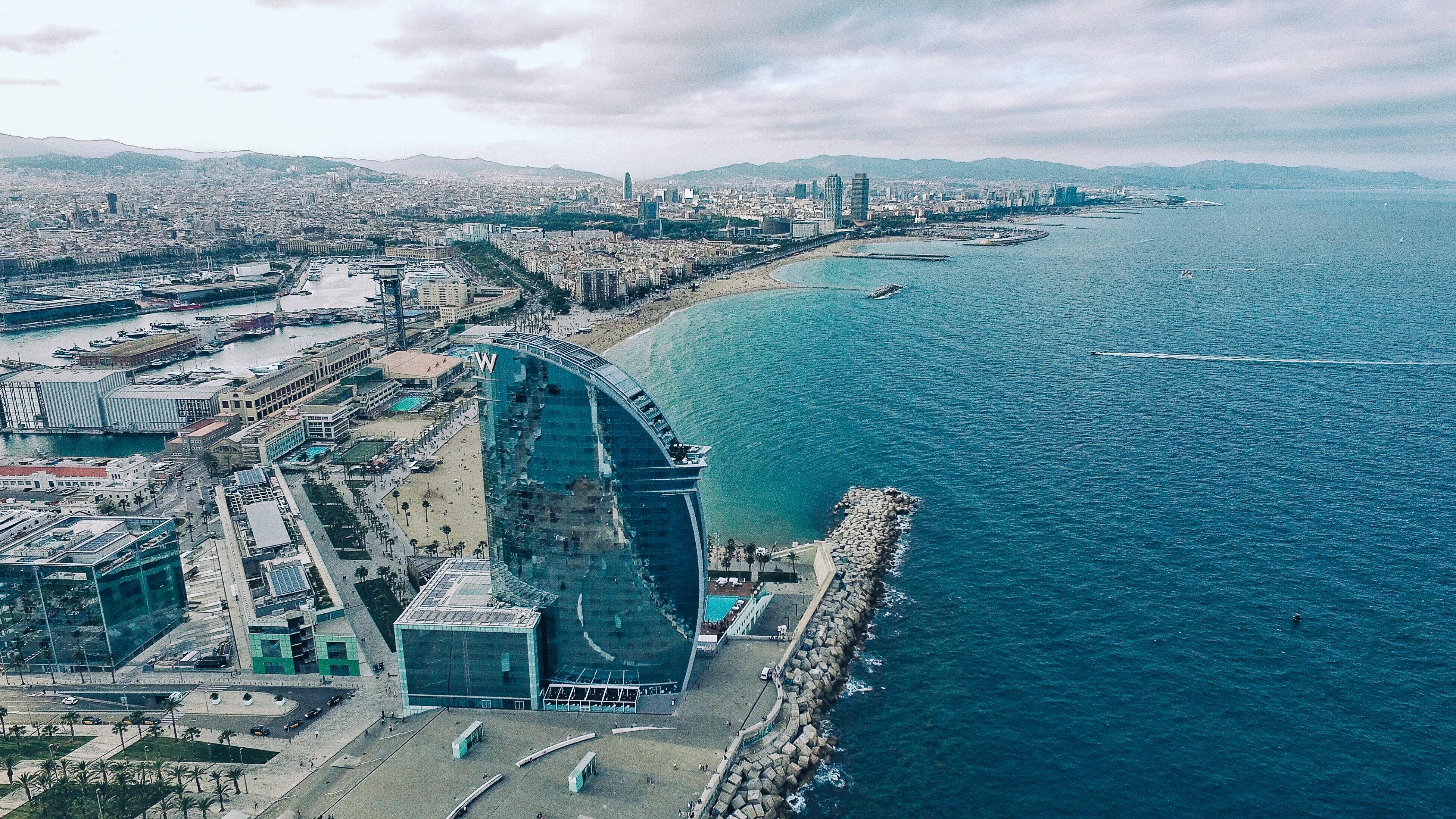 Strand Barcelona - Dagje Barcelona met de kinderen