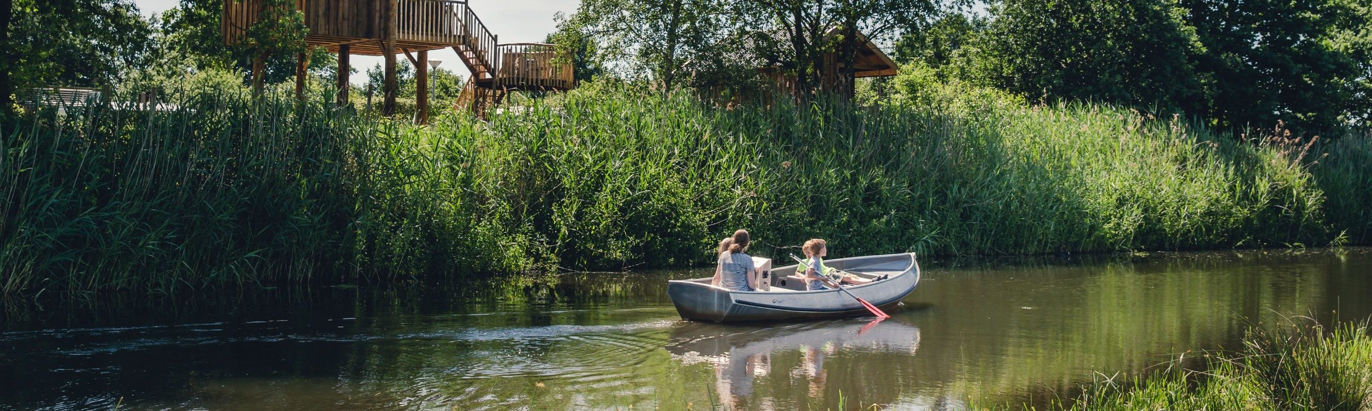 Varen over vakantiepark Mölke - Kids-Campings
