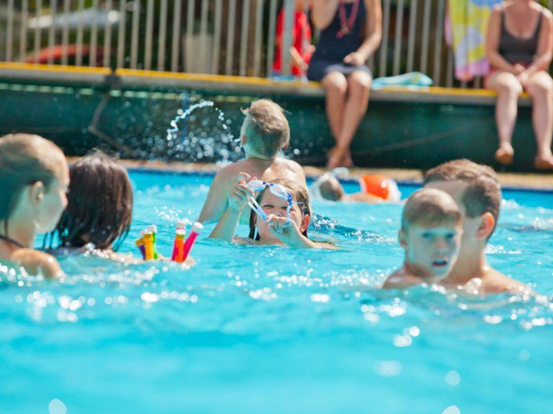zwembad De Vossenburcht - Kids-Campings