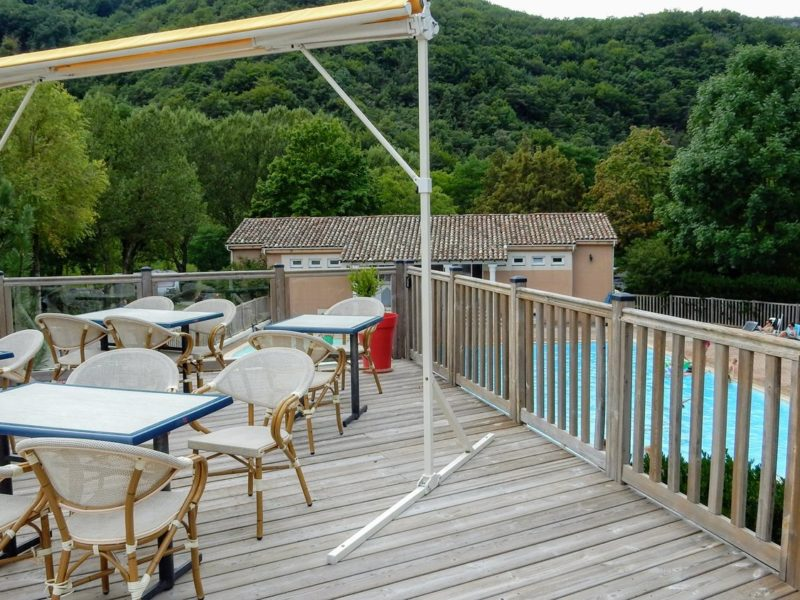 terras - Le Gallo Romain - Kids-Campings