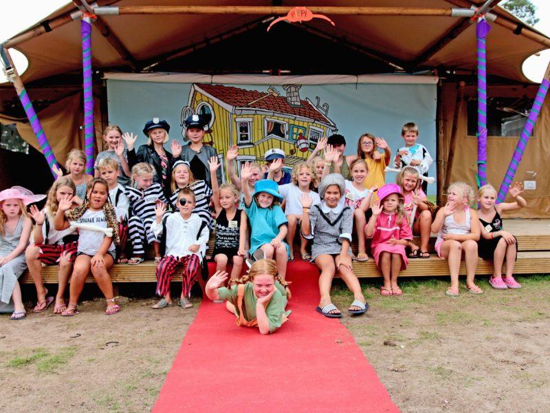 camping animatie kinderen