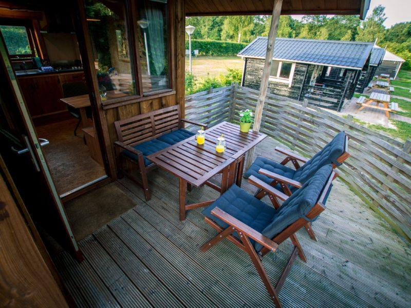 Reestcottage veranda - De Vossenburcht