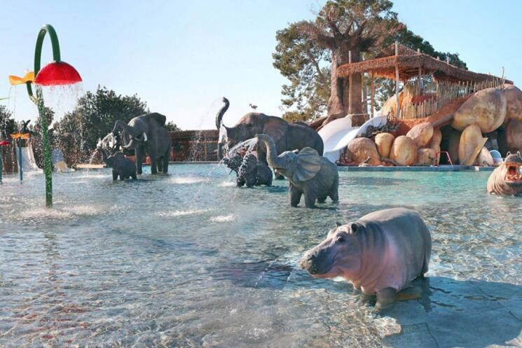 Zwembad Camping Sanguli - Campings aan de Costa Dorada