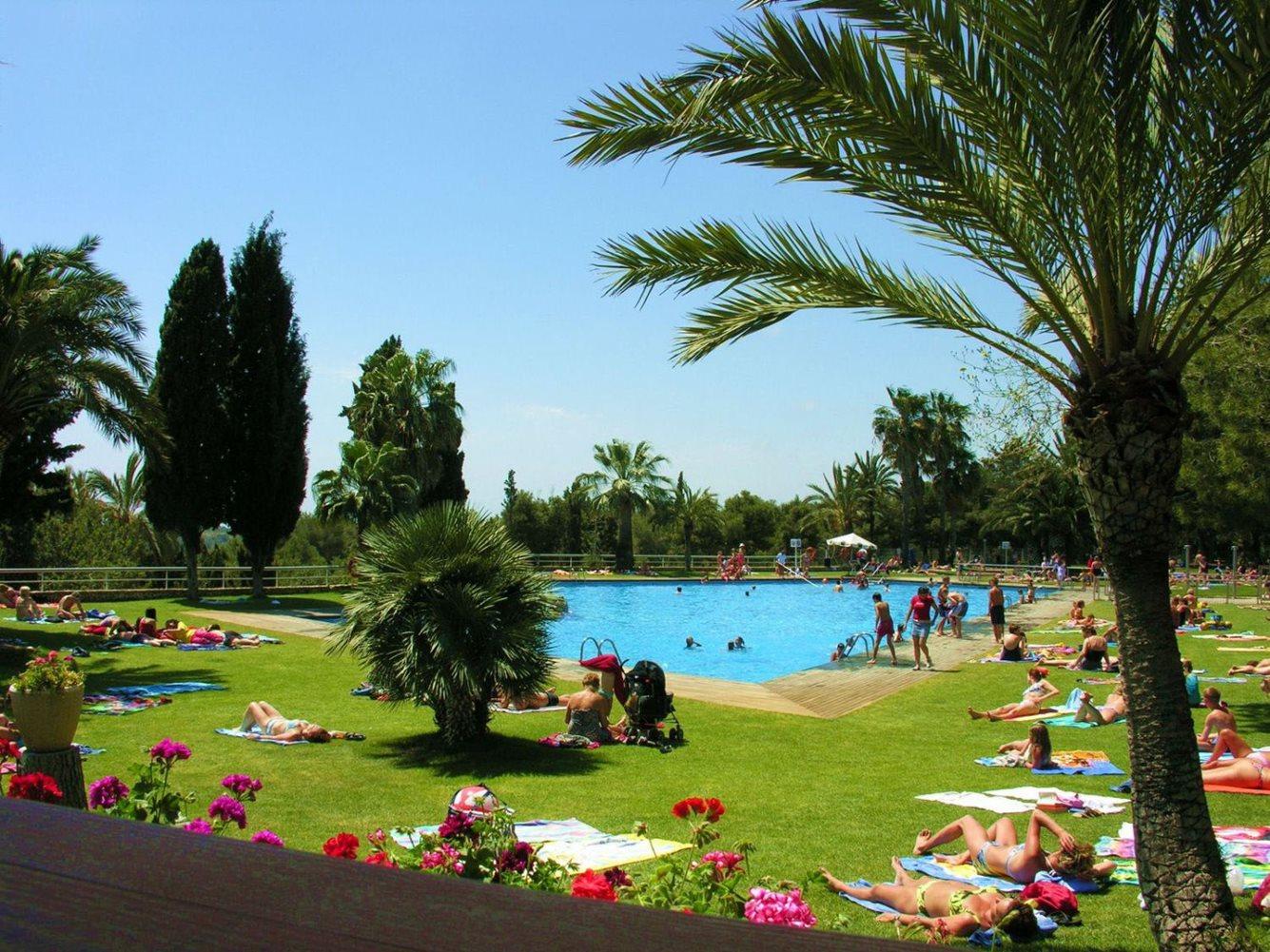 Zwembad Camping Vilanova Park - Campings aan de Costa Dorada