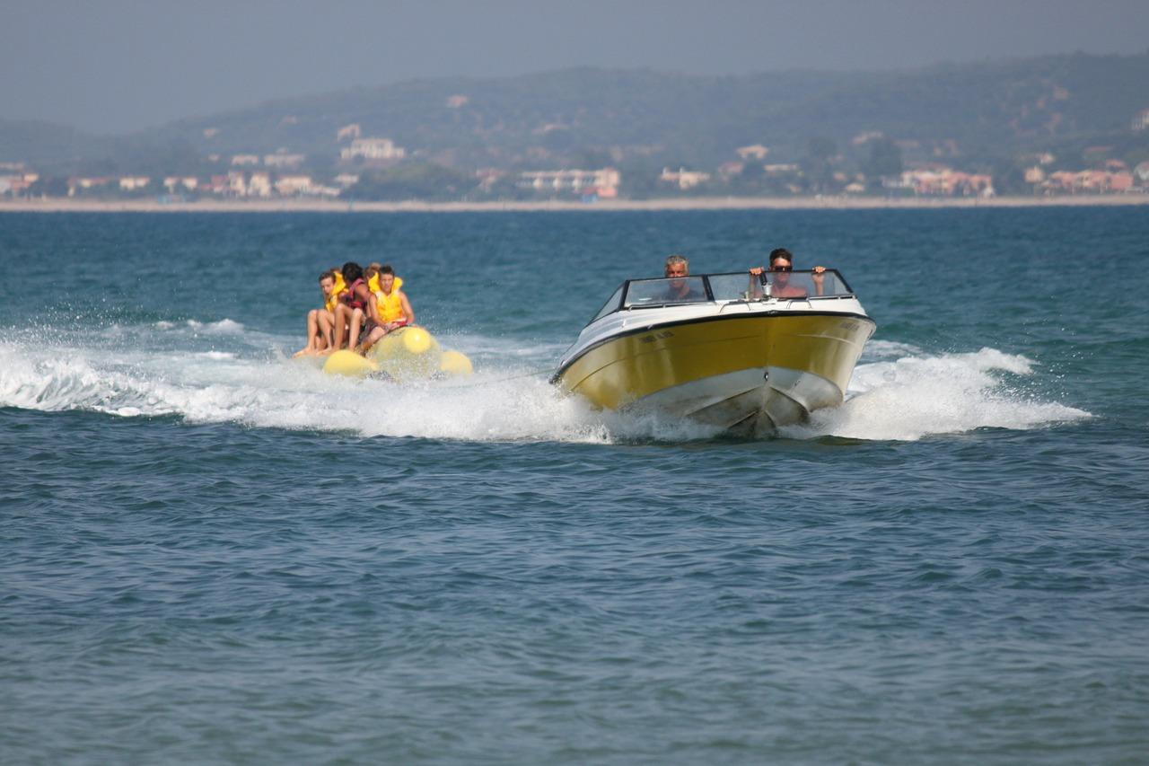 Bananenboot Istrië vakantie naar Kroatië met kinderen via Kids-Campings.com