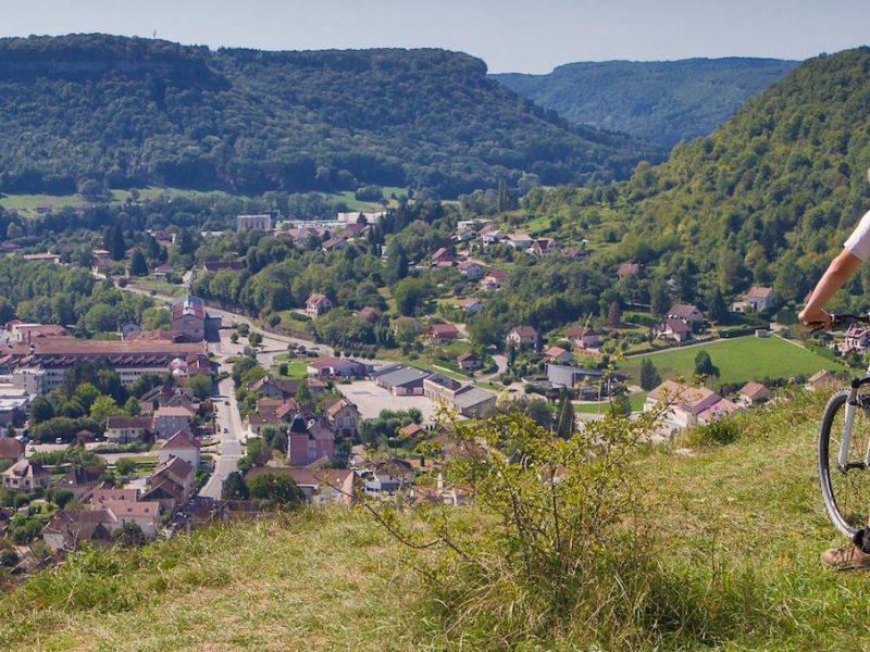 Roche d'Ully - mountainbiken