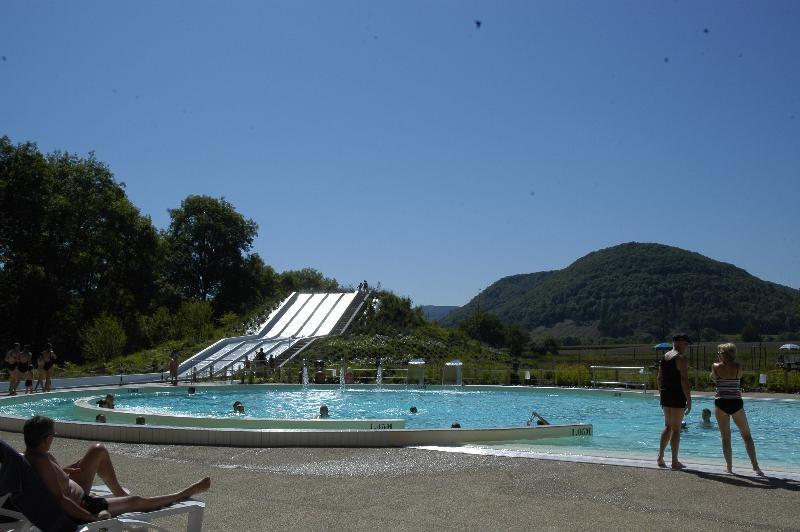 Roche d'Ully - zwembad met uitzicht
