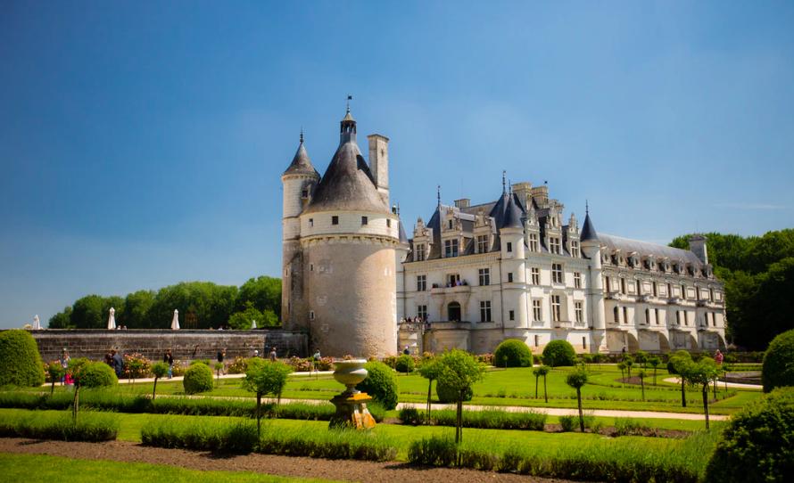 Op kastelentocht in de Loirestreek vanaf La Grande Tortue - Château Chenonceau