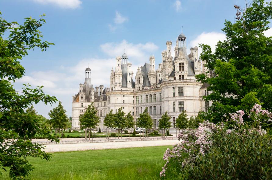 Op kastelentocht door de Loirestreek vanaf La Grande Tortue - Château Cham