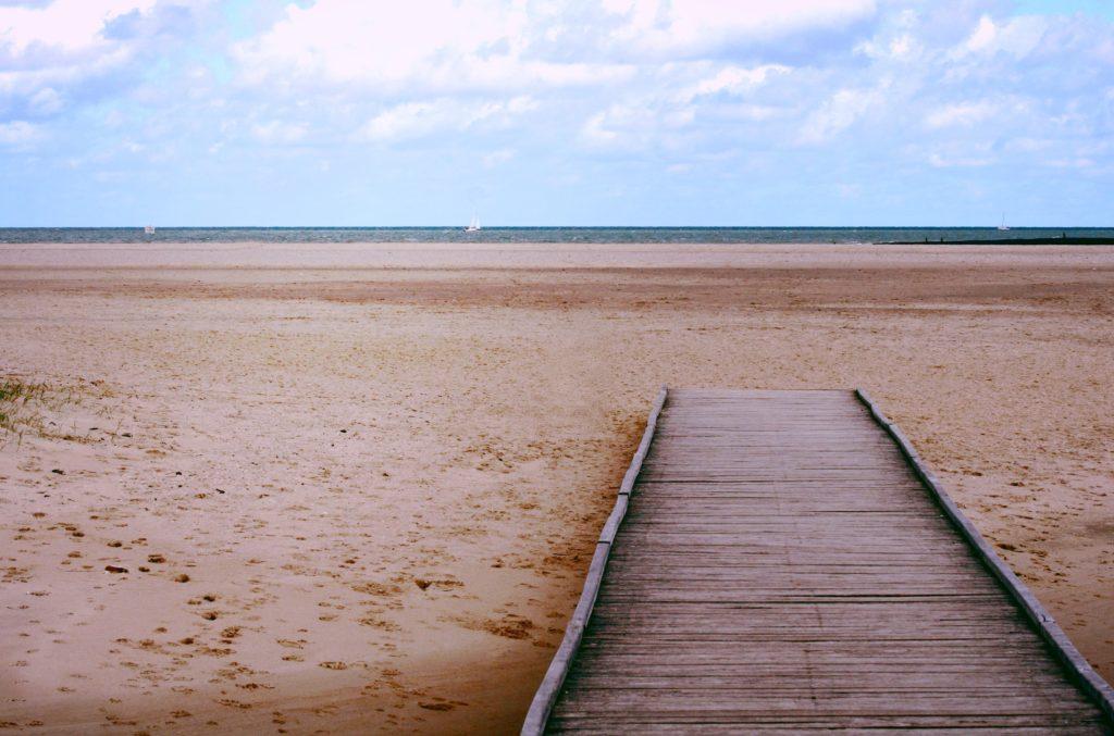 Genieten met pasen op het strand bij NIeuwvliet-Bad