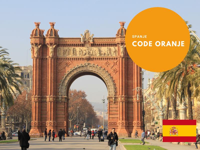 Code oranje in Spanje